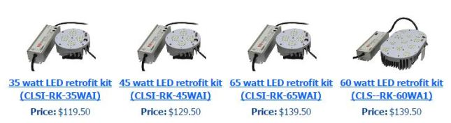 LED retrofit kits - LED light